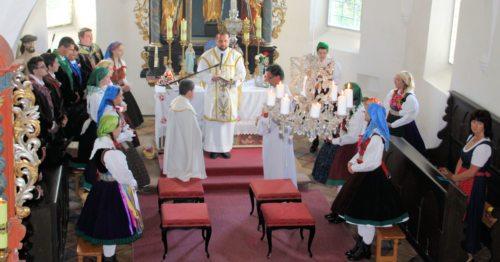 Festgottesdienst in der Filialkirche St. Anton (Bild: Peter Sternig)