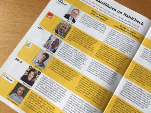 Spitzenpolitiker im Wahlcheck c:KFV-Kärnten