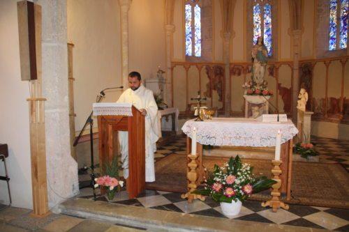 Gedenkmesse in der Marienkirche mit Provisor Mrawczynski (Bild: Angela Moritsch).