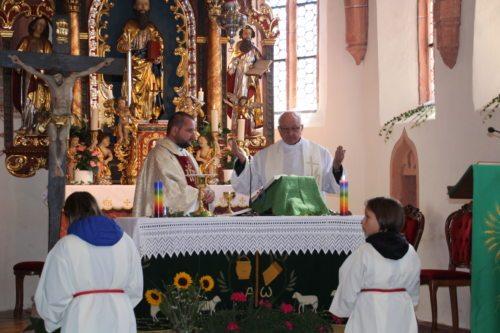 Festgottesdienst in der Pfarrkirche St. Paul am 30. Sept. 2018 (Bild: Peter Sternig).