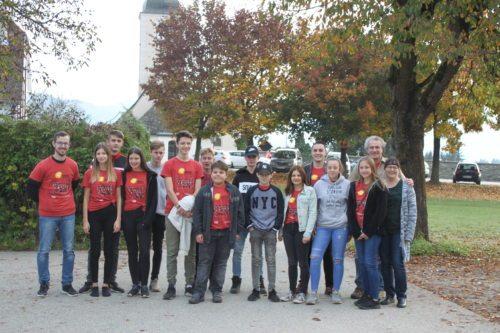 Die Jugend- und Firmgruppe aus Launsdorf (Foto: Melina Ebner)