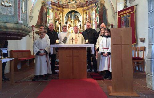 Altarweihe in Gösselsdorf (Foto: S. Lesjak)