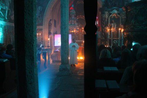 Stimmungsvoller Gottesdienst (© Foto: Katholische Jugend Kärnten)