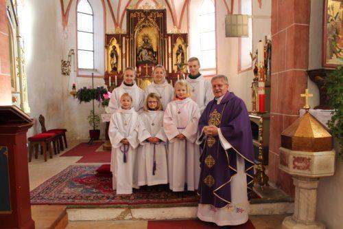 MinistrantInnen vom Treffling (© Foto: Marianne Possegger)