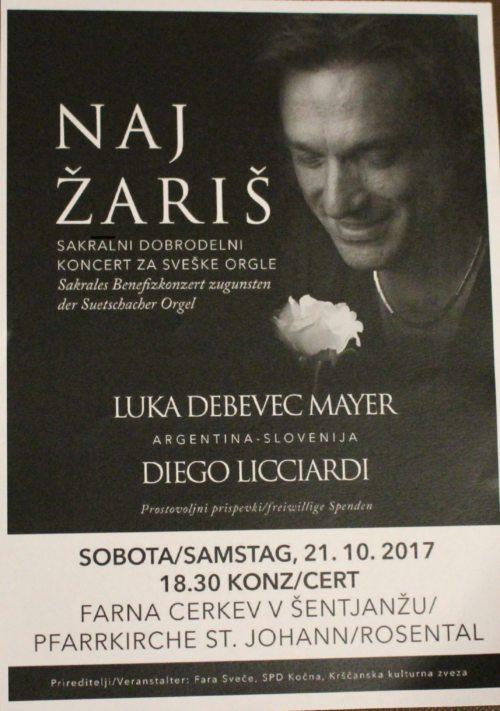 Einladung zum Konzert (© Foto: G. Mischkulnig)