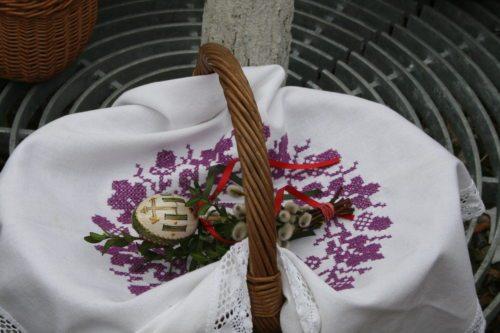 Osterkorb zur Speisensegnung (© Foto: Dompfarre)