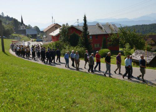 Prozession am Jakobikirchtag in St. Martin am Techelsberg (© Foto: Michael Habernigg)