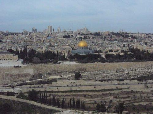 Das Land der Bibel - die Stadt Jerusalem (© Foto: Foto: Pfarre Fresach)