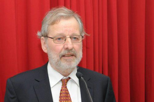 Peter Jordan - letošnji prejemnik Einspielerjeve nagrade (Gotthardt)