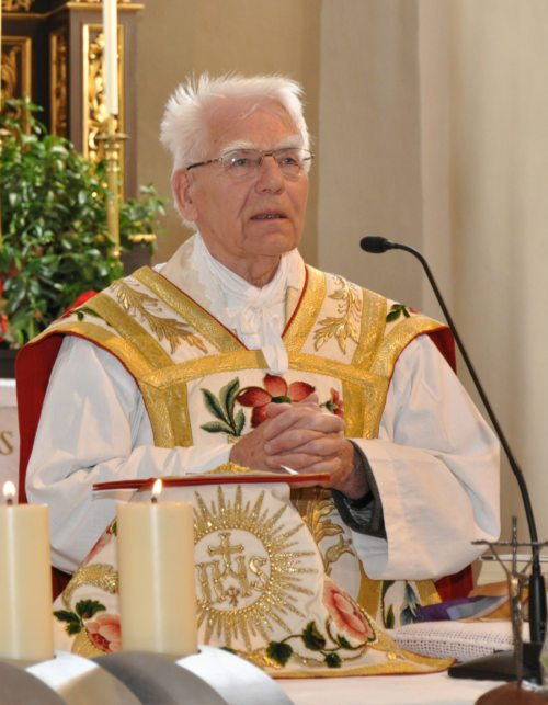 GR Pfarrer Josef Schachner (© Foto: J.K.)
