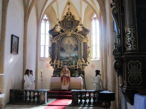 hl. Messe in St. Wolfgang (© Foto: Josef Schantl)