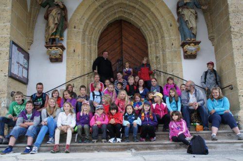 Die Teilnehmer am Ferienlager des Dekanats Gmünd-Millstatt (© Foto: Benno Karnel)