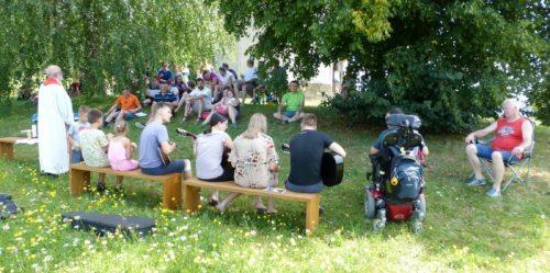 Počitniški teden v Kančevcih (Referat za družine)
