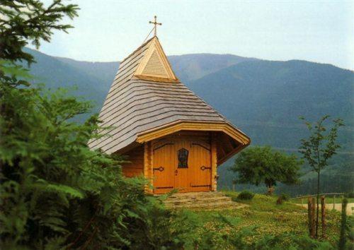 Kapelle Pontnig (© Foto: Pfarre Maria Rojach).