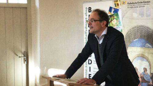 Univ. Prof. Dr. Jan-Heiner Tück beim KAV-Studientag in Maria Saal (Foto: KH Kronawetter)