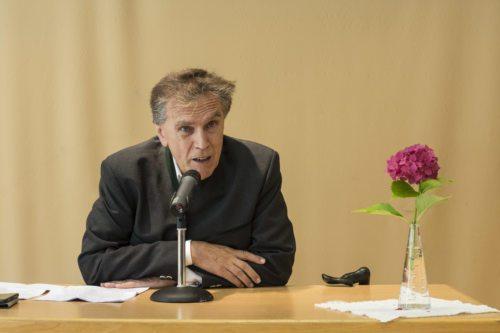 Botschafter Dr. Emil Brix referiert bei der KAVÖ-Tagung 2019 in Tainach/Tinje (Foto: KH Kronawetter / Internetredaktion)