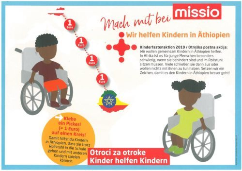 Aktionsblatt Missio
