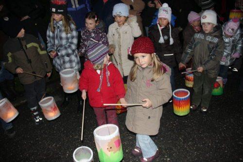 Martinsfest der Kindergartenkinder der Pfarre St. Martin am Techelsberg (Foto: Internetredaktion, fotogard)