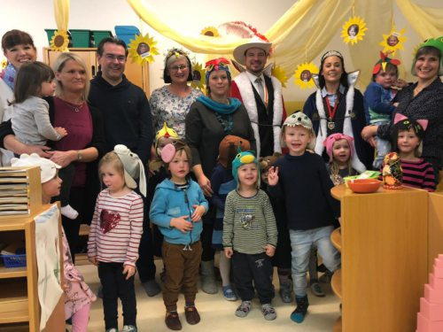 Engagement in Kindergruppe