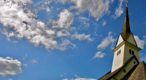 Detail Filialkirche St. Martin bei Niedertrixen; Foto: fotomax