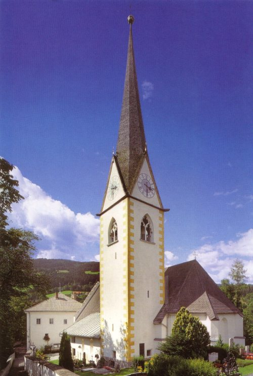 "Kirche ""Maria Himmelfahrt"" in Lieseregg (© Foto: G. Peda)"
