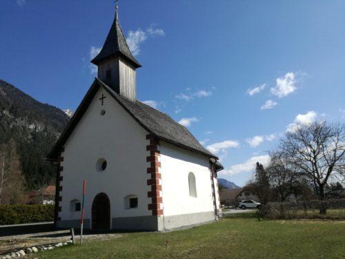 Filialkirche Obervellach, Foto ElZu