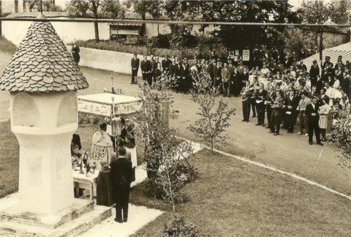 Jakobi-Kirchtag (um 1960) (© Foto: Albert Hartl)