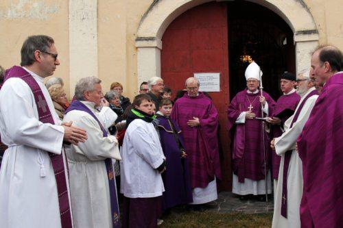 Eröffnung der Heiligen Pforte in Heiligengrab (© Foto: R. Katz Logar, SP)