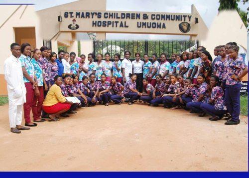 Das engagierte Team desSt. Mary's Children and Community Hospital (Bildrechte Kathi Hoss)