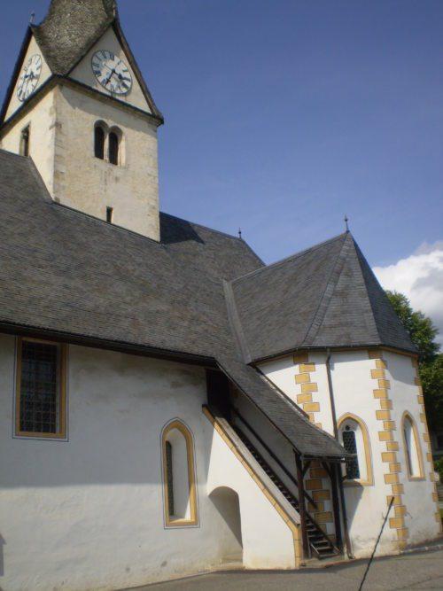 Propsteikirche zu Wieting (© Foto: Pfarre Kl.St.Paul)