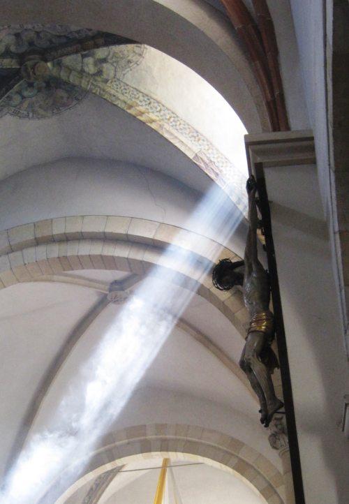 Stiftskirche St. Paul, Kreuzrippengewölbe (© Foto: Ing. Herbert Wallechner)