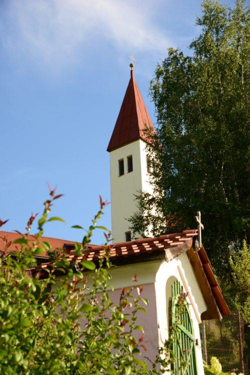"""Filialkirche """"St. Laurentius"""" in Lieserhofen (© Foto: P.W.Mach)"""