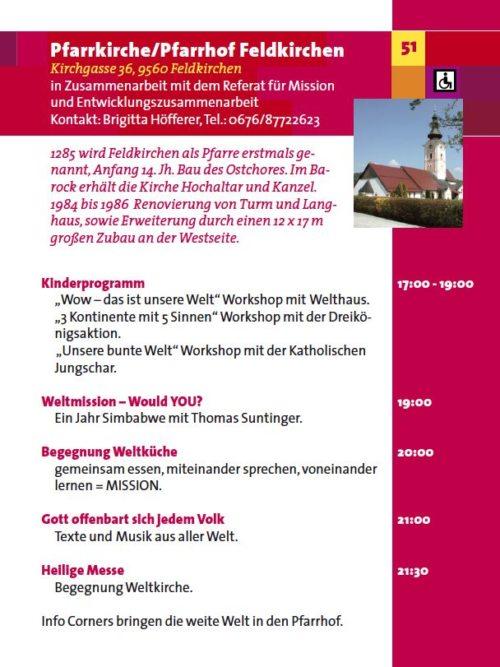 Einladung zur LNDK in Feldirchen (© Foto: Diözese Gurk)