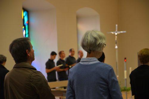 Vesper in der Seminarkapelle (Priesterseminar / Piotr Karaś)