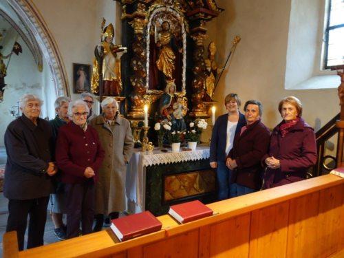 Die Beterinnen von Vorderberg (© Foto: Velik)