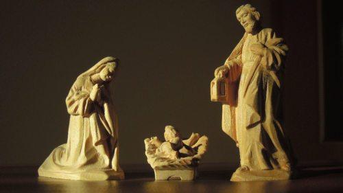 """WEIHNACHTEN - """"Ich steh an deiner Krippe hier, o Jesu, du mein Leben."""" (Paul Gerhard) (© Foto: KH Kronawetter / Internetredaktion)"""