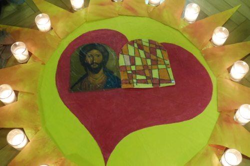 Jesus im Herzen (© Foto: Marianne Possegger)