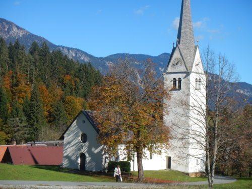 Pfarrkirche Mellweg / Melviče (© Foto: Reinhild Brugger)