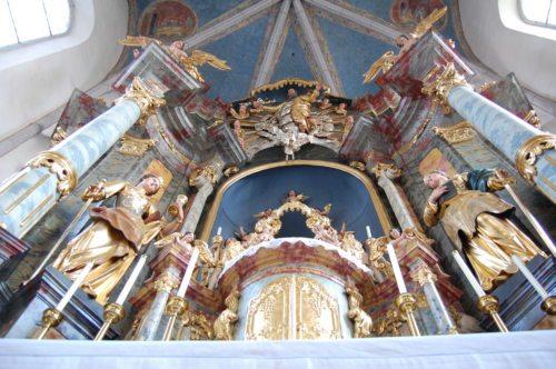 Der Altar der Pfarrkirche (Foto: Stefan Lesjak jun.)
