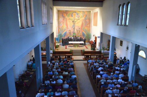Montanara Chor in der Pfarrkirche Seeboden (© Foto: Herr Michael Thun, Millstatt)