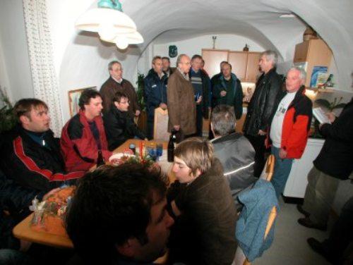 zu Gast im Pfarrhof (© Foto: Foto  Karl Brenčič)