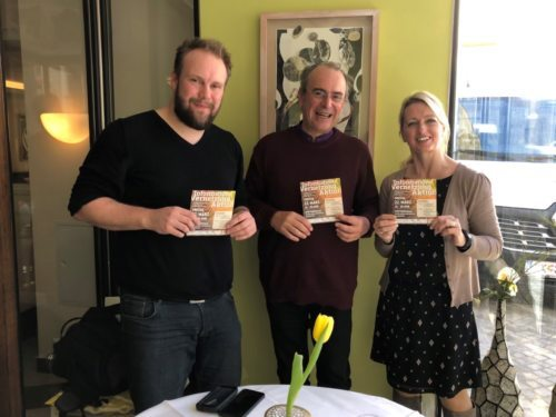 Organisationsteam, v.l.: Marcel Leuschner, Hans-Peter Premur und Birgit Wurzer