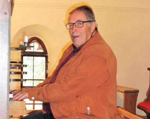 Organist Hermann Fritz (© Foto: H. F.)