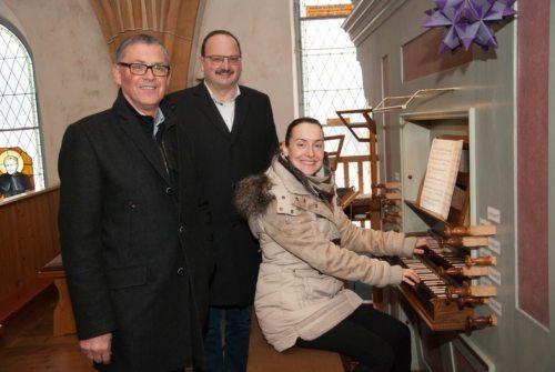 Stefan Lexer, Peter Mascher und Margaretha Lexer (vlnr.) (© Foto: Lexer)