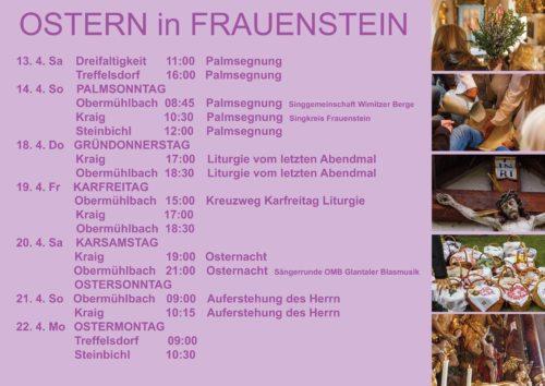 Ostern in Frauenstein Foto: Anton Wieser