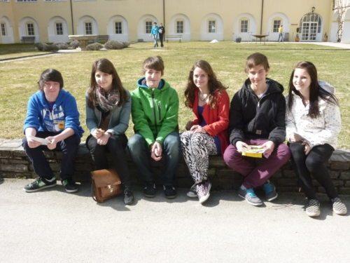 Jugendliche beim Orientierungstag in St. Georgen (© Foto: KJ)