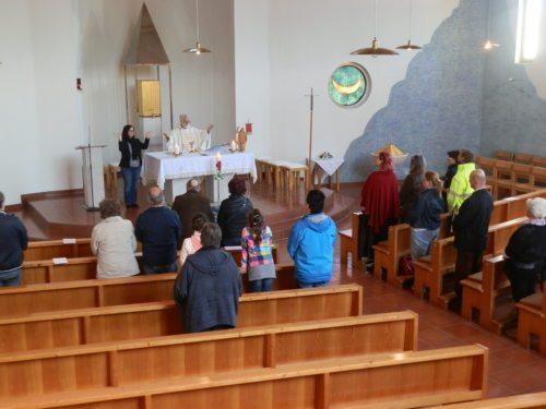 Gottesdienst in Wölfnitz (© Foto: Gerda Heger)
