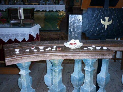 Jesus du Quelle - Das Symbol der Kontaktwoche (© Foto: Pfarre)