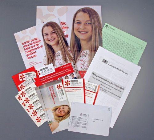 Materialien für die PGR Wahl (© Foto: DKZ)
