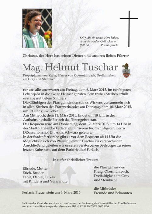 Parte Pfarrer Helmut Tuschar (© Foto: Anton Wieser)